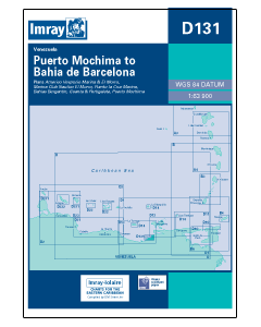 D131 Puerto Mochima to Bahia De Barcelona (Imray Chart)