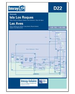 D22 Isla Lo s Roques & Isla De Aves (Imray Chart)