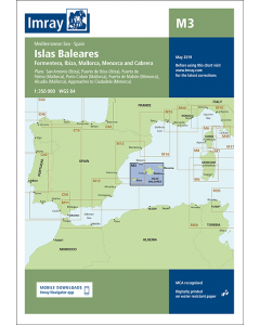 M3 Islas Baleares (Imray Chart)