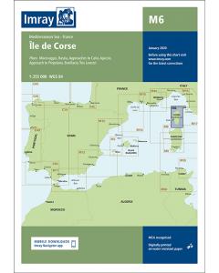M6 Île de Corse (Imray Chart)