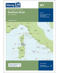 M7 Bonifacio Strait (Imray Chart)