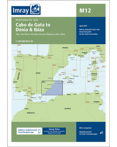 M12 Cabo de Gata to Dénia and Ibiza (Imray Chart)