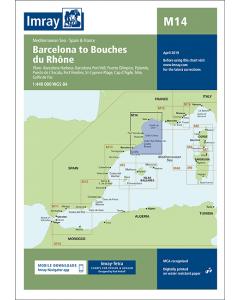M14 Barcelona to Bouches du Rhône (Imray Chart)