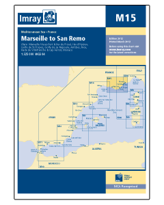 M15 Marseille to San Remo (Imray Chart)