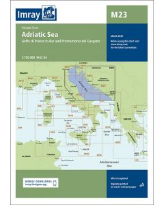 M23 Adriatic Sea Passage Chart (Imray Chart)