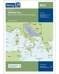 M23 Adriatic Sea Passage Chart (Imray Chart)