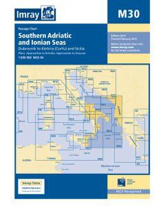 M30 Southern Adriatic & Ionian Seas (Imray Chart)