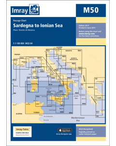 M50 Sardegna to Ionian Sea (Imray Chart)
