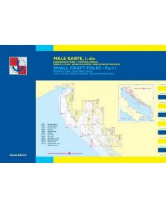 Croatia Male Karte 1: Trieste to Zadar (12 charts)