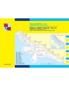 Croatia Male Karte 2: Zadar to Ulcinj (17 charts)