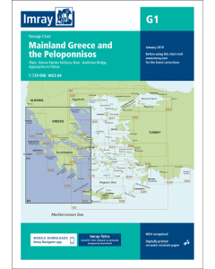 G1 Mainland Greece and the Peloponnisos (Imray Chart)