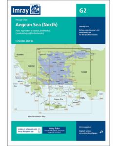 G2 Aegean Sea - North (Imray Chart)