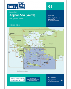 G3 Aegean Sea - South (Imray Chart)