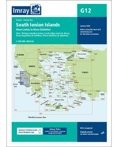 G12 South Ionian Islands (Imray Chart)