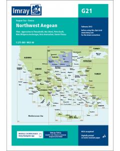 G21 Northwest Aegean Sea (Imray Chart)