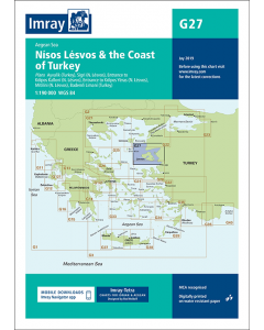 G27 Nísos Lésvos & the Coast of Turkey (Imray Chart)