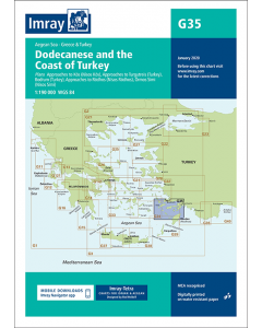 G35 Dodecanese and the Coast of Turkey (Imray Chart)