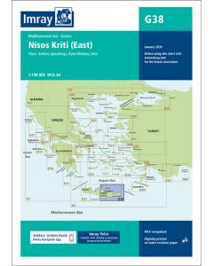 G38 Nísos Kríti - East (Imray Chart)