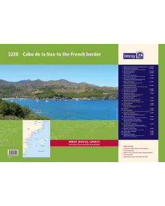 3220 Cabo de la Nao to the French border Chart Atlas