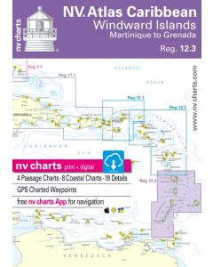 NV. Atlas Caribbean - Windward Islands, Martinique to Grenada, Reg. 12.3