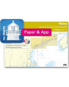 NV-Charts Reg. 1.1 - Maine: Canadian Border to Cape Elizabeth