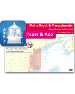 NV-Charts Reg. 2.1 - Massachusetts: Cape Elizabeth to Cape Cod