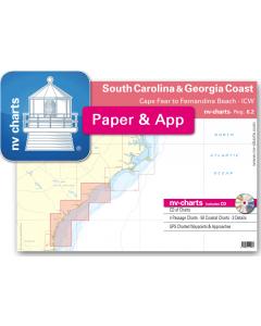 NV-Charts Reg. 6.2 - South Carolina & Georgia Coast: Cape Fear to Fernandina Beach - ICW