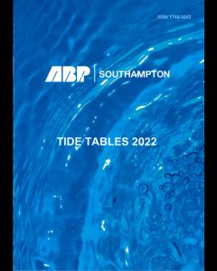 ABP Southampton Tide Tables 2022