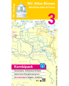 NV Atlas Binnen 3: Nördliche Oder & Peene (2015 Edition)