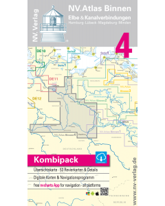 NV Atlas Binnen 4: Elbe & Kanalverbindungen (2017 Edition)