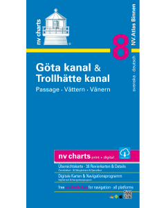 NV Atlas Binnen 8: Göta-Kanal und Trollhätte Kanal